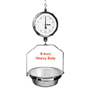 "Chatillon Type 4200 Heavy Duty 9"" Hanging Scales"