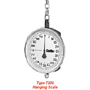 "Chatillon Type 7200 13"" Dial Hanging Scales"