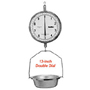 "Chatillon Type 8200 Commercial 13"" Dial Hanging Scales"