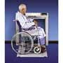 Scale-Tronix 6202 Stow-A-Weigh Series Wheelchair Scales